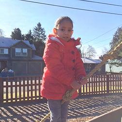 Preschool Child on Playground