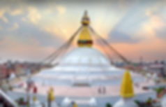 Boudhanath in the evening