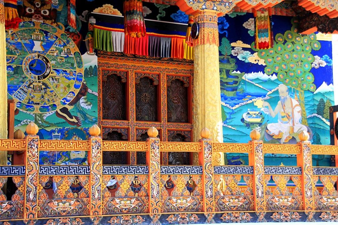 Buddhist Graffiti