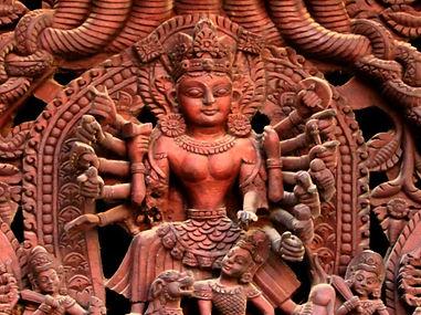 Rangoli, mandala, Tihar, Nepal