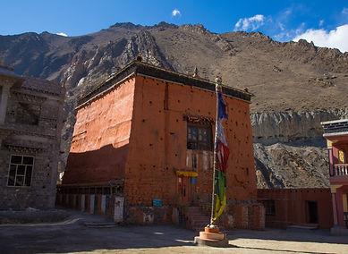 Red Fort, Kagbeni, Lower Mustang, Annapurna, Nepal