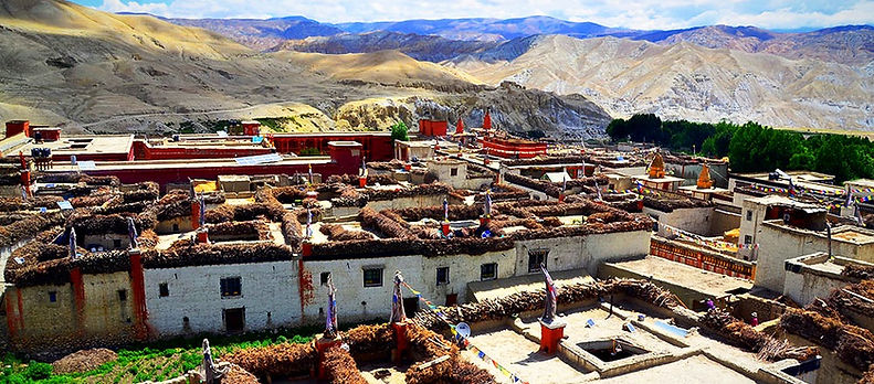 Capital of Upper Mustang, Lo-Manthang