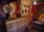 Room inside Samaye Monastery, Tibet