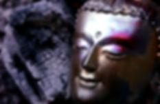 Cast Buddha head