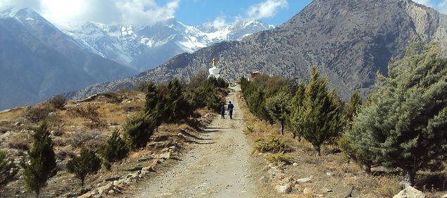 Trail to Marpha, Annapurna, Nepal