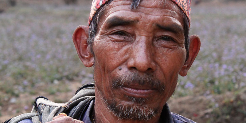 Farmer from Brigand's Bend, Nepal