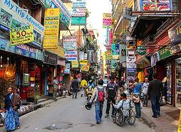 Street inThamel, Kathmandu, Nepal