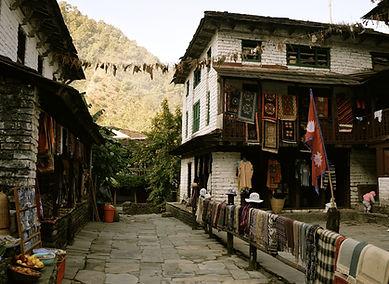 Village in the Annapurna's Nepal