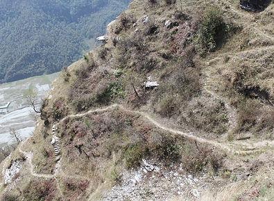 Descending trail, Annapurna, Nepal