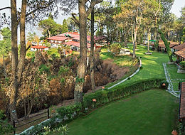 Hattiban resort above Kathmandu