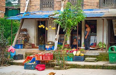 Local shop in Bungamati Nepal