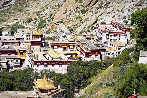 Sera Monastery in Tibet, once home to more than 5,000 monks.