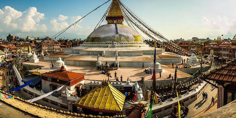 Boudnath Stupa, Nepal
