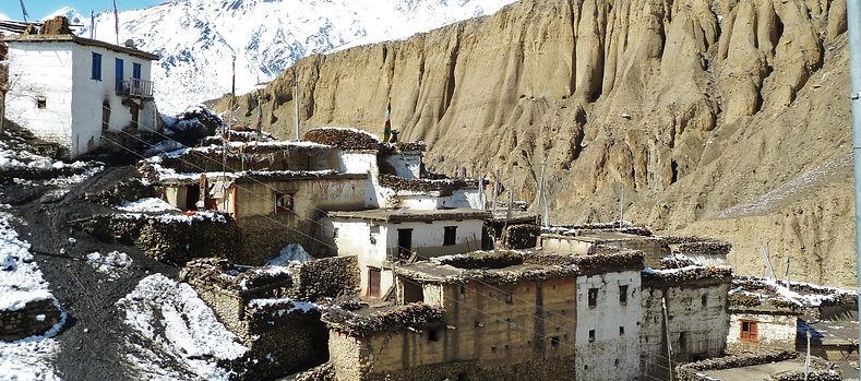 Lubra Village, Lower Mustang, Annapurna, Nepal