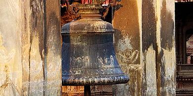 Incense purificaton fire, Boudnath