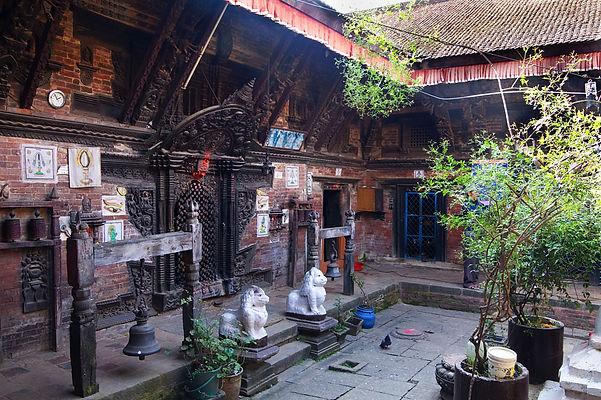 Tibetan monastery, Boudhnath Nepal