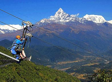 Zip Line Pokhara