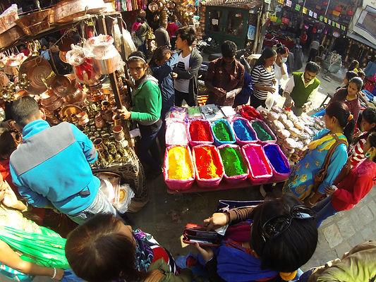 Shopping inmarket place, Kathmandu, Nepal