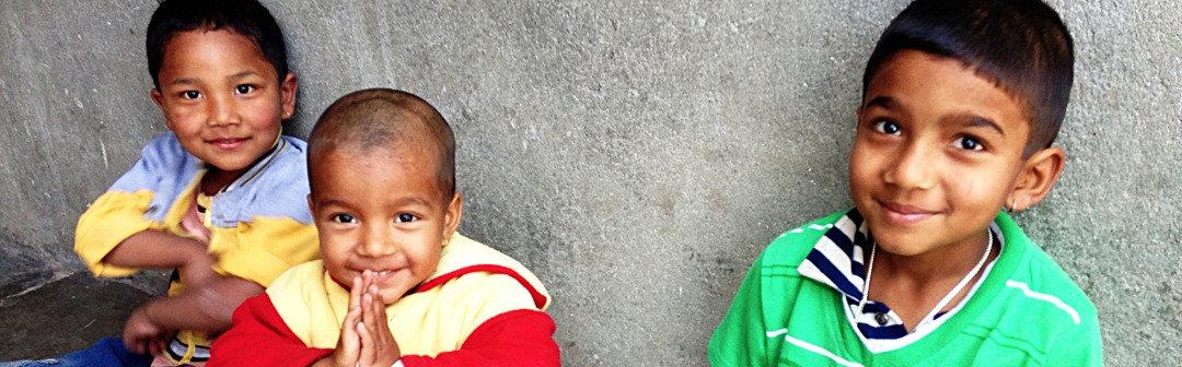 3 nepalese boys, Kumbeshwar Technical school, Patan, Nepal