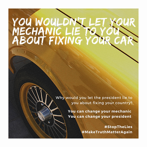 Car mechanic lies