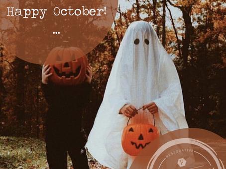 October 2020 Newsletter: It's Spooky Season!