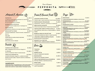 carte set de table_Pepponita_pizzeria To