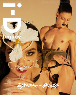 I-D / Makeup on Björk for the Cover of I-D