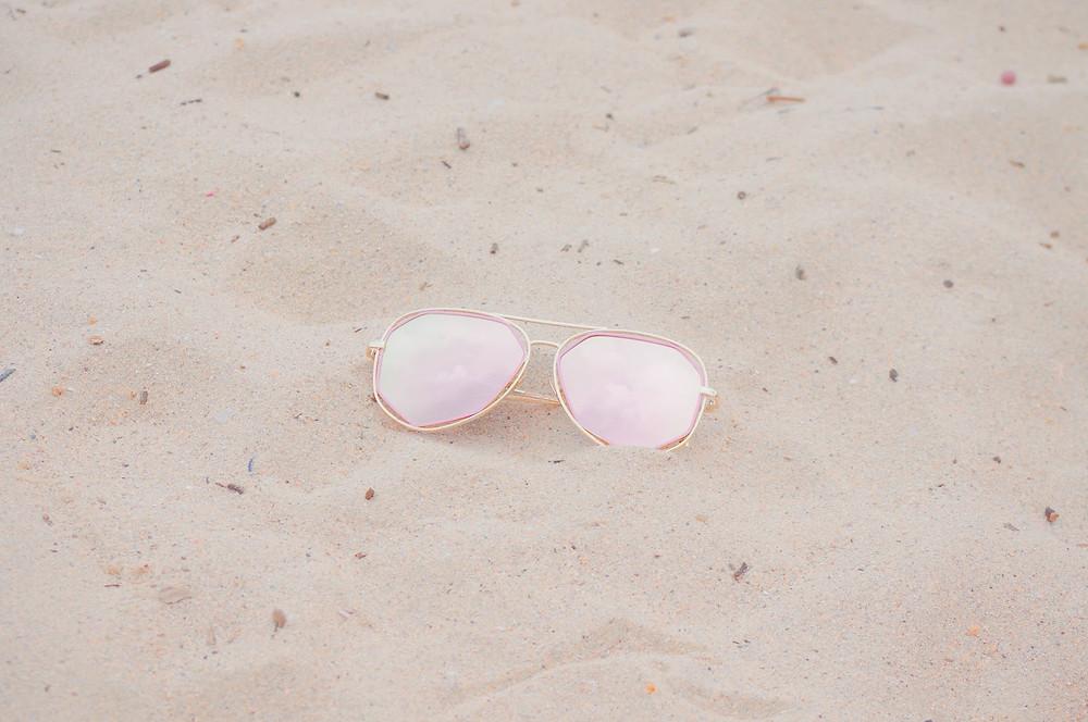 rose colores glasses