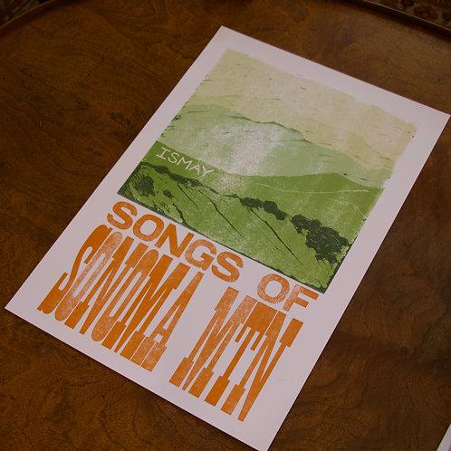 Screen Printed SOSM Poster, White Cardstock