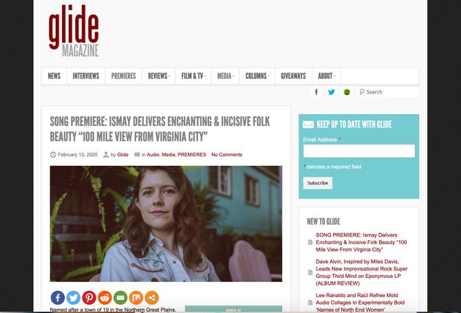 Premier in Glide Magazine!