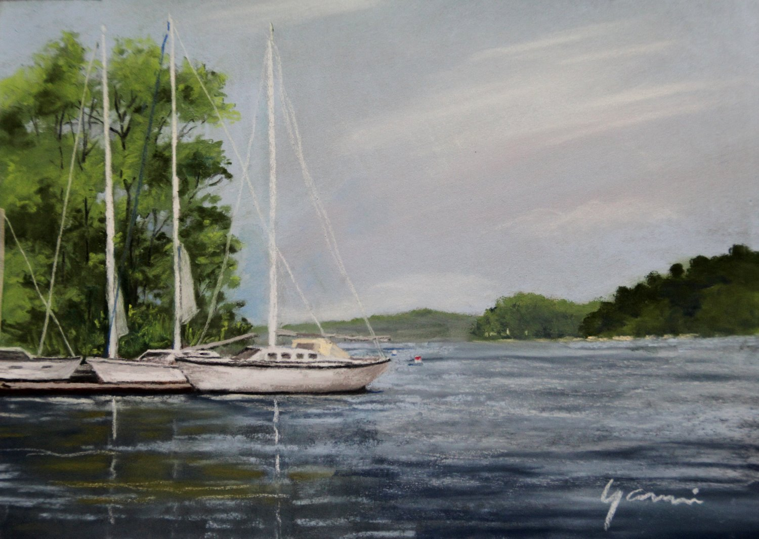 SACKETS HARBOR plein air_edited