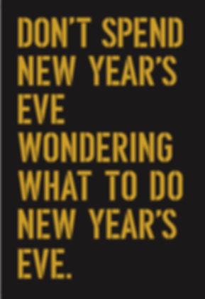 TESSA Restaurant NEW YEAR'S EVE 2020 Pt.