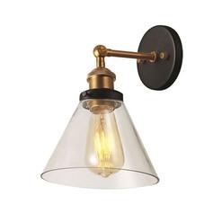 Brass Funnel Wall Light