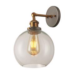 Brass Dome Wall Light