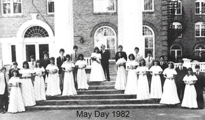 Flora Macdonald Academy May Court in 1982