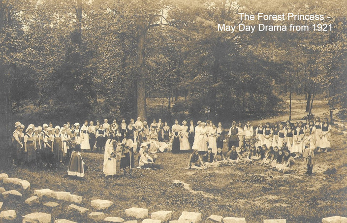 The Forest Princess - the May Day drama from 1921