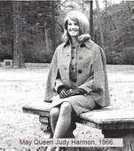 Judy Harmon, May Queen 1966