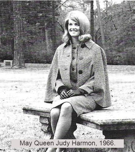 Judy Harmon, May Queen 1966