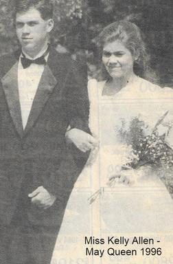 1996 May Queen Kelly Allen