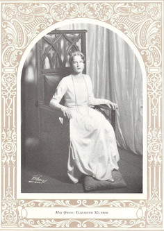 Elizabeth Monroe, May Queen 1929