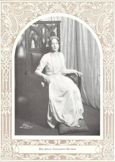 Elizabeth Monroe, May Queen 1929