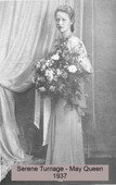 Serene Turnage, May Queen 1937