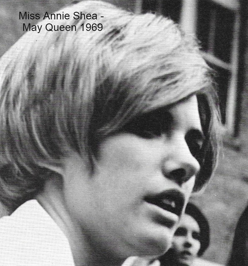Annie Shea, May Queen 1969