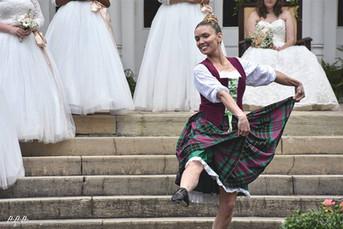 Katherine Bersch dances the Scottish Lilt.