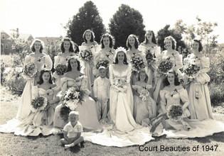 Court Beauties of 1947