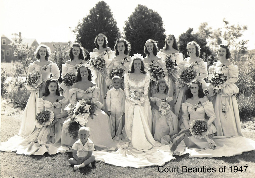 Court Beauties of 1947