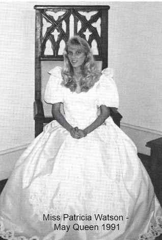 1991 May Queen Patricia Watson