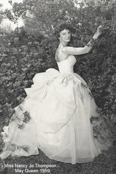 May Queen Nancy Jo Thompson in 1959