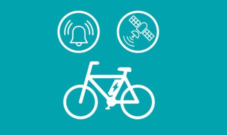 E-Bike Diebstahlschutz mit Alarmfunktion und GPS-Tracking