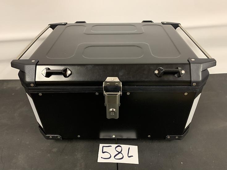California Super Box - 58-Liter Black Powder-Coated Top Box